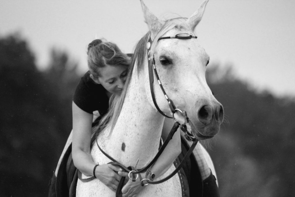 Jasemin Be und ihr Pferd Ⓒ Jasemin Be