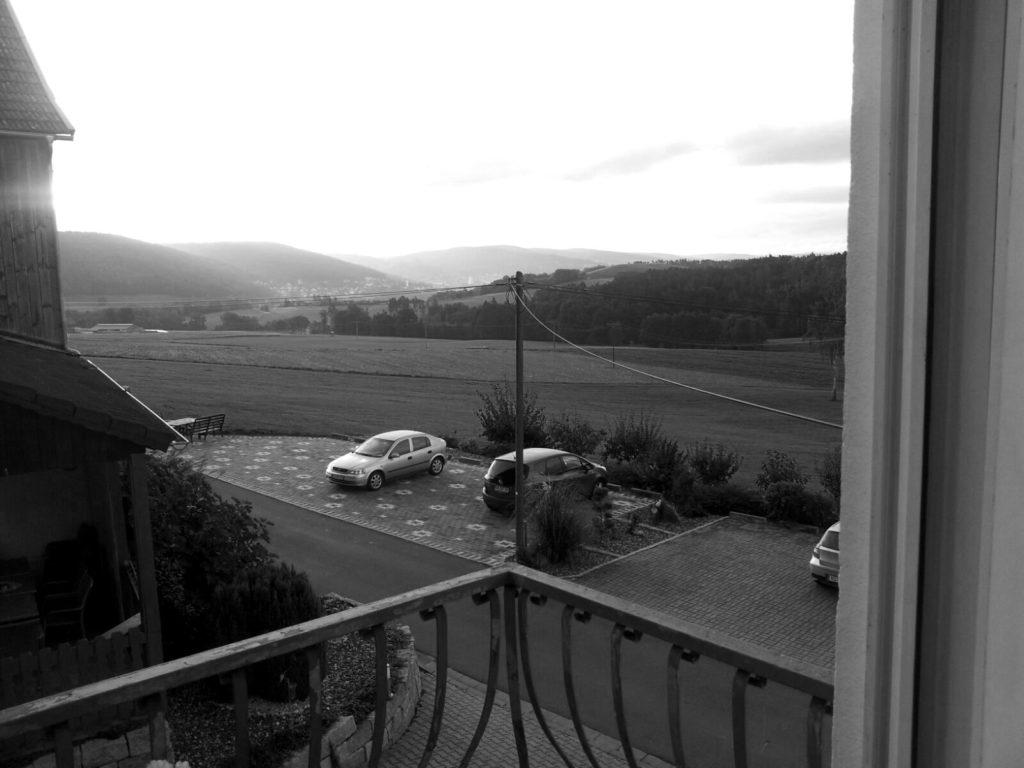 Blick aus meinem Fenster Ⓒ Hardi P.Schaarschmidt