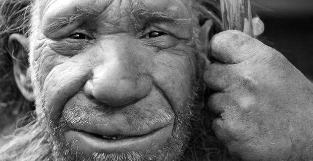 Die Studie einer unserer Vorfahren, tapfer, fleißig und genügsam.