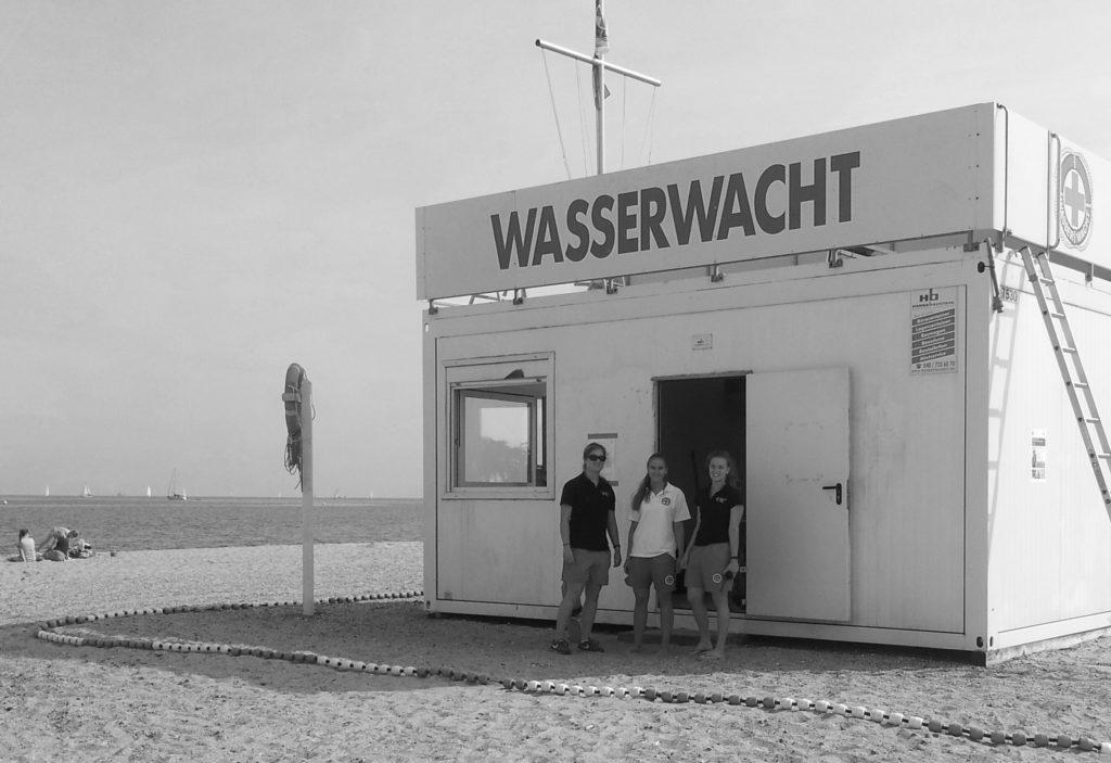 Baywatch Was haben David Hasselhof, Pamela Anderson und vier Border Collie gemeinsam?